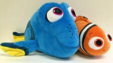 Disney Finding Nemo Talking Dory Bandai + Ty Sparkle Nemo Plush Stuffed Animals