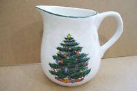 Rare Design Cpyrighted Christmas Tree Creamer