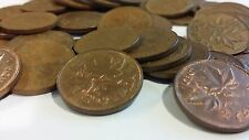 FULL ROLL 1971 CANADA ONE CENT PENNIES CIRCULATED
