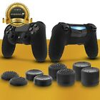 Anti-Slip Silicone Skin + 8x Thumb Stick Grip Cap for PS4 DualShock 4 Controller