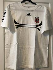 NWT: Adidas DC United official MLS T-Shirt, White, Size Medium