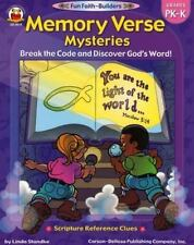 Memory Verse Mysteries, Grades PK - K: Break the Code and Discover Gods Word (Fu