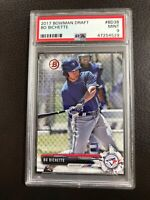 2019 Bowman Draft Bo Bichette #BD38 PSA 9 MINT Rookie Card Toronto Blue Jays 🔥