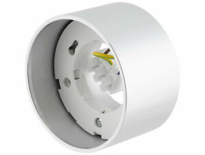 Aluminium Mounted Spotlights GX53 230V Ceiling Light Kitchen Silver Round Flat