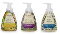 Dr Jacobs Naturals Liquid Castile 8 oz foaming soap 3 Pack and FREE BAR SOAP