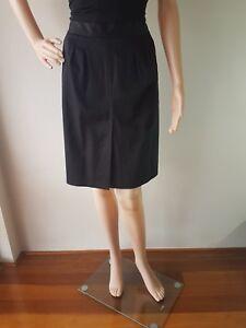 COUNTRY ROAD Ladies Black Cotton Blend Knee Length Size: 6 EC