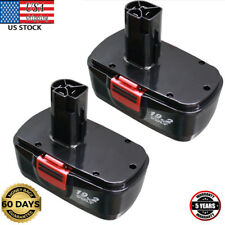 2PCS 19V Replacement for Craftsman 19.2 Volt Battery Diehard C3 11375 130279005