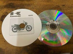 Service Repair Workshop Manual CD KAWASAKI W650