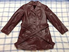 Vintage Womens Leather Jacket Custom Tailored by Mr Ohs in Korea - VERY RARE