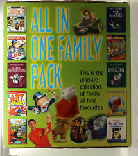 All In One Family Pack PC Game Software Bundle Monopoly Art Attack Lego Racers