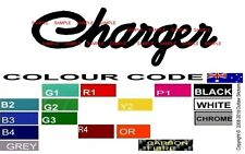 CHARGER DECALS STICKERS GRAPHICS SIGN VALIANT HEMI WINDOW 265