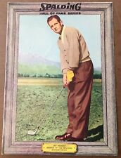 Vintage 1950's - 60's Spalding Golf Photo - Picture - Hall Of Fame - Jay Hebert