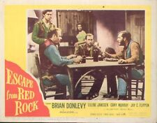 Escape From Red Rock 11x14 Lobby Card #6