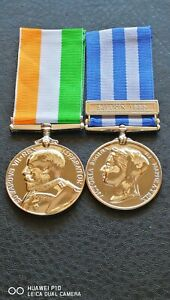 King Edward Vll South Africa, Queen Victoria Suakin 1885 Egypt Military Medals