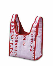 Recycled Shopper made from Food Aid Bags In Soth Africa by Give-it-bag