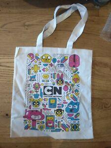 Cartoon Network Tote Canvas Shopping Bag