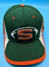 SHERMAN BULLS green / white / orange  adjustable cap / hat *NEW*