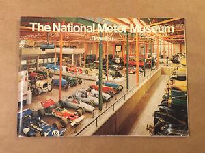 BEAULIEU National Motor Museum 1972 (Revised 1975) Souvenir Guide Book British