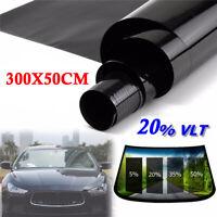 Uncut Roll Window Tint Film 20% VLT 25 X 120 10Ft Feet Car Home Office Glass