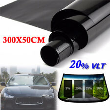 Uncut Roll Window Tint Film 20% VLT 25 X 120 10Ft Feet Car Home Office Glass