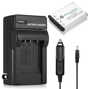 NP-45 NP-45A Battery + Charger For Fujifilm Fuji NP45B FinePix XP11 XP10 XP60