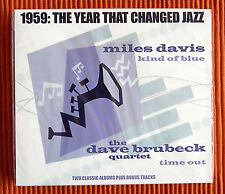 MILES DAVIS - KIND OF BLUE & DAVE BRUBECK - TIME OUT 2CD in slipcase SEALED
