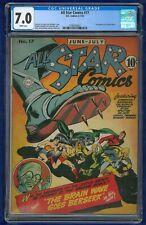 All Star Comics #17 1943 CGC 7.0 DC Comics Golden Age