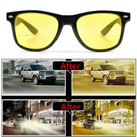 Yellow Lens Night Vision Driving Glasses Polarized Sunglasses Riding Goggles KK
