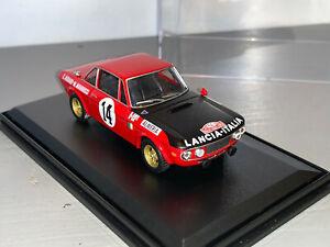 RALLY 1/43 IXO ALMERIA LANCIA FULVIA HF SANDRO MUNARI MONTE CARLO WRC 1972 RARE