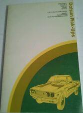 DATSUN PICK-UPS CHILTON'S REPAIR & TUNE-UP GUIDE 1970-75