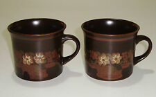 "2 BEAUTIFUL VINTAGE ROYAL DOULTON LAMBETHWARE CUPS ""BASQUE"""