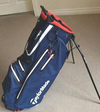 2020 TaylorMade Mens FlexTech Waterproof Stand Bag Lightweight Dual Carry Strap
