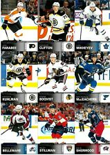 U.D. 2019-20 Overtime Inserts 9 card lot mixed.