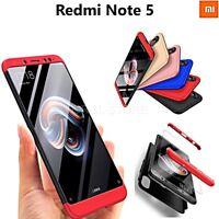 COVER per Xiaomi Redmi Note 5 Fronte Retro 360° ORIGINALE ARMOR CASE SLIM