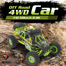 Wltoys 1/12 Off-road Remote Control Truck High Speed Climbing 4WD Car Race Toy