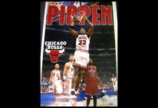 Rare SCOTTIE PIPPEN 1995 Chicago Bulls Starline Vintage Original NBA POSTER