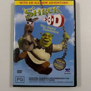 Shrek + 3D Version Special Edition (DVD 2001 2 Disc-set) Region 2,4