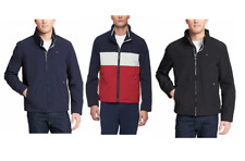 Tommy Hilfiger Mens Navy Sz XL Nylon Jacket Wind Water...