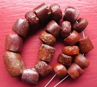 Perles Ancien Afrique Mali Sahara Ancient African Neolithic Agate Carnelian Bead