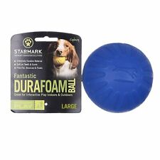 Starmark Interactive Play Large Fantastic DuraFoam Ball for Dogs