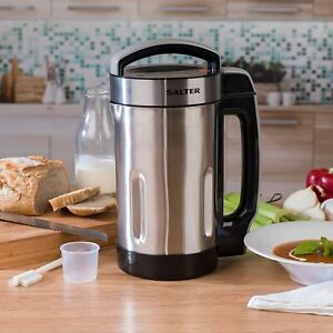 Salter Electric Chunky Smooth Soup Maker Smoothie Blender 4 Settings 1100W 1.6L
