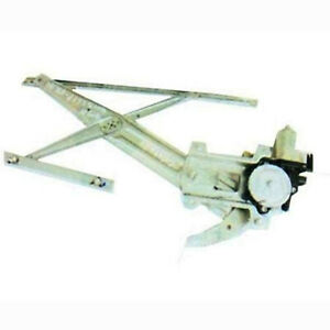 New Aftermarket Front Driver Power Door Window Regulator, with Motor, 15922914