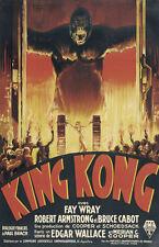 Enmarcado impresión-King Kong 1933 Película Póster (réplica imagen Godzilla Megalon)