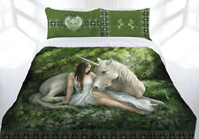 Anne Stokes Pure Heart Queen Bed Quilt Cover Set