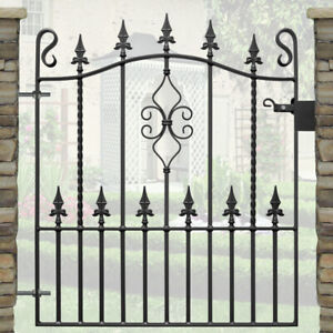 Garden Gate for 3ft Opening | Metal Gate-Front Gate-Wrought Iron Gate- WEAR