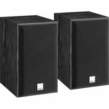 Dali Spektor 1 Speakers Compact Bookshelf Loudspeakers - BLACK ASH PAIR
