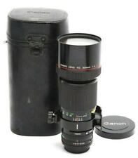 Near Mint Canon FD 300mm f4.0 L Manual Focus Lens with Case #32760