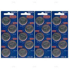 20 NEW SONY CR2430 3V Lithium Coin Battery Expire 2027 FRESHLY NEW - USA Seller