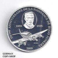 Togo 1000 Francs CFA 2009 Flugzeug JU 52 Hugo Junkers - Republique Togolaise