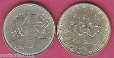 S73 SAN MARINO 20 LIRE  1976  IL LAVORO DA SERIE DIVISIONALE  KM 55,   FDC / UNC